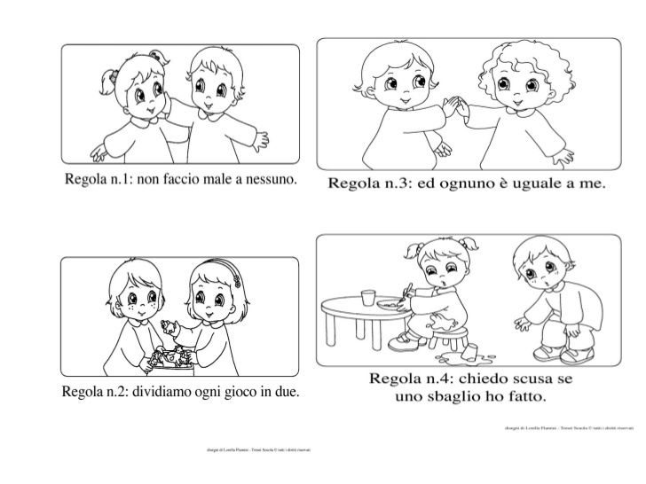 Amato 18 best Regole scuola images on Pinterest | Craft, Behavior and Album KX96