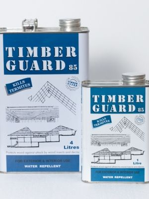 Timber Guard 85 : low odour fluid with excellent water-repellent property and good penetrating power