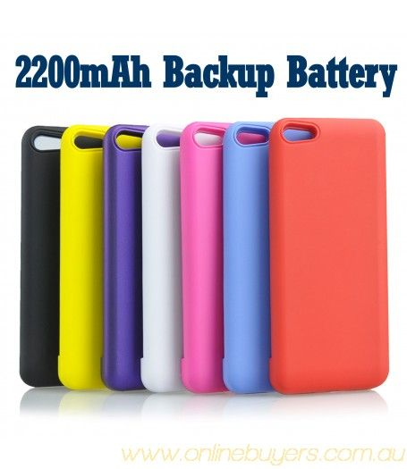 Portable Black External Pack Backup Battery Charger Case For iPhone 5 5G #Portable #Portable #Black #External #Pack #Backup #Battery #Charger #Case #iPhone5