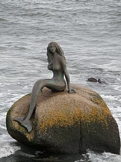 'Mermaid of the North', Balintore, Scotland
