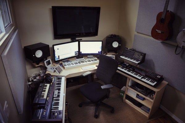 20 Home Studio Recording Setup Ideas To Inspire You…