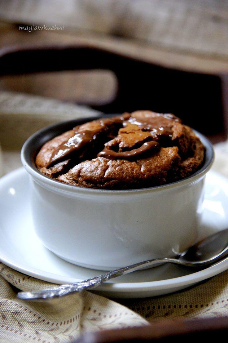 Suflet podwójnie czekoladowy.