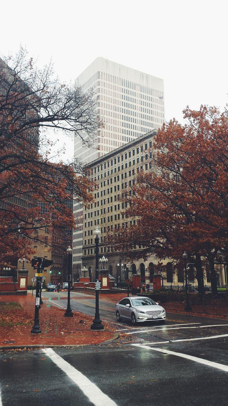 Providence, autumn