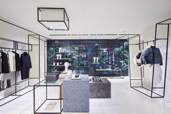 Chanel pop-up store, Rome, Italy | Retail Interior Design, Retail Design #luxuryretailstores #retailfurniture #retailinteriordesign See more retail projects http://brabbucontract.com/projects