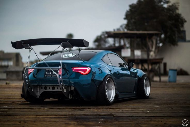 Wing it! #GreaseGarage #Toyota #86 #Stance #Wing Cars - design ideen frs bad
