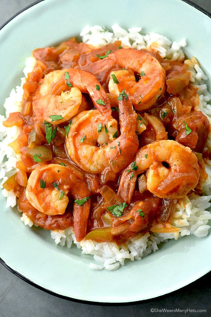 This #easy Shrimp Creole recipe is a savory blend of seasonings you're sure to love!