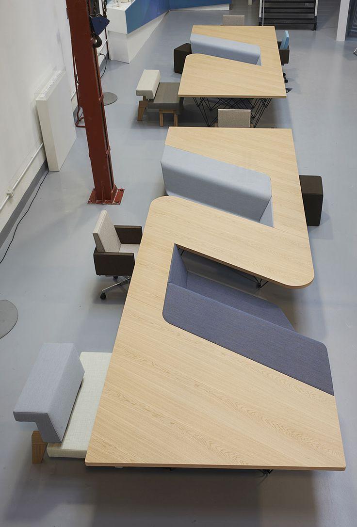 PROOFF@TortonaDesignWeek | more on: http://www.pinterest.com/AnkAdesign/office-buldings-design/