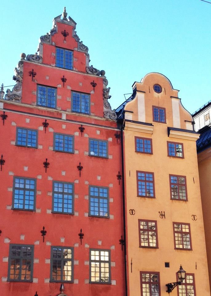 Just a snippet of Stockholm's old town square, one of many magnificent sights you have to see when you make the trip to Stockholm