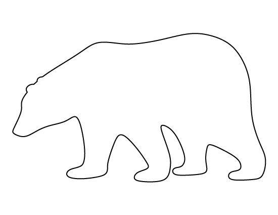 Image Result For Polar BeaR Stencil