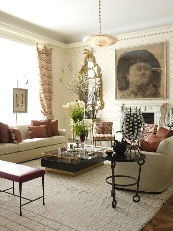 Designer Gallery Grasscloth Wallpaper Natural: Richard Mishaan: Designer Gallery • Grasscloth Wallpaper