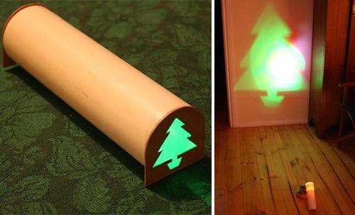 DIY Christmas Tree Projector