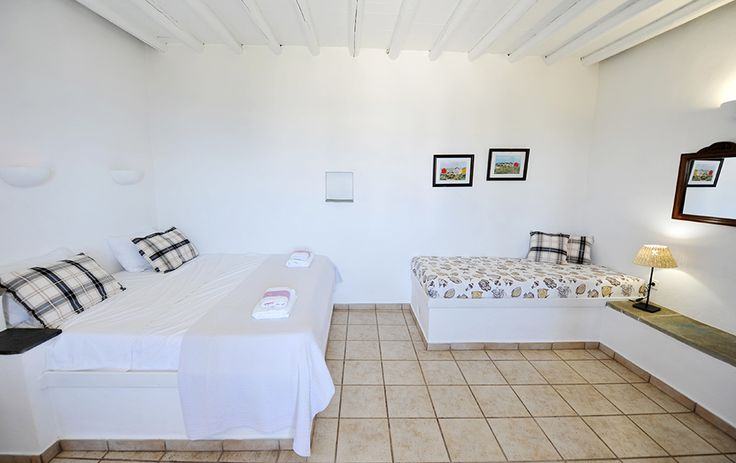 Where the comfort and the style are met.. Windmill Bella Vista ➜ http://ow.ly/KPWsp #sifnos #windmill #accommodation #greece #apartments