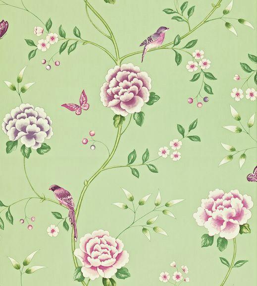 Sanderson Richmond Hill Wallpaper Collection Pavilion wallpaperdirect