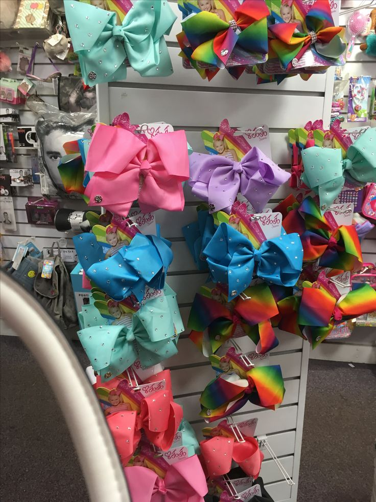 Jojo's bows at Claire's