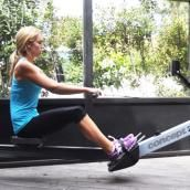 Gotta try this one day at the gym when I'm on the rower. Calorie-Blasting Rowing Machine Workout - Shape Magazine