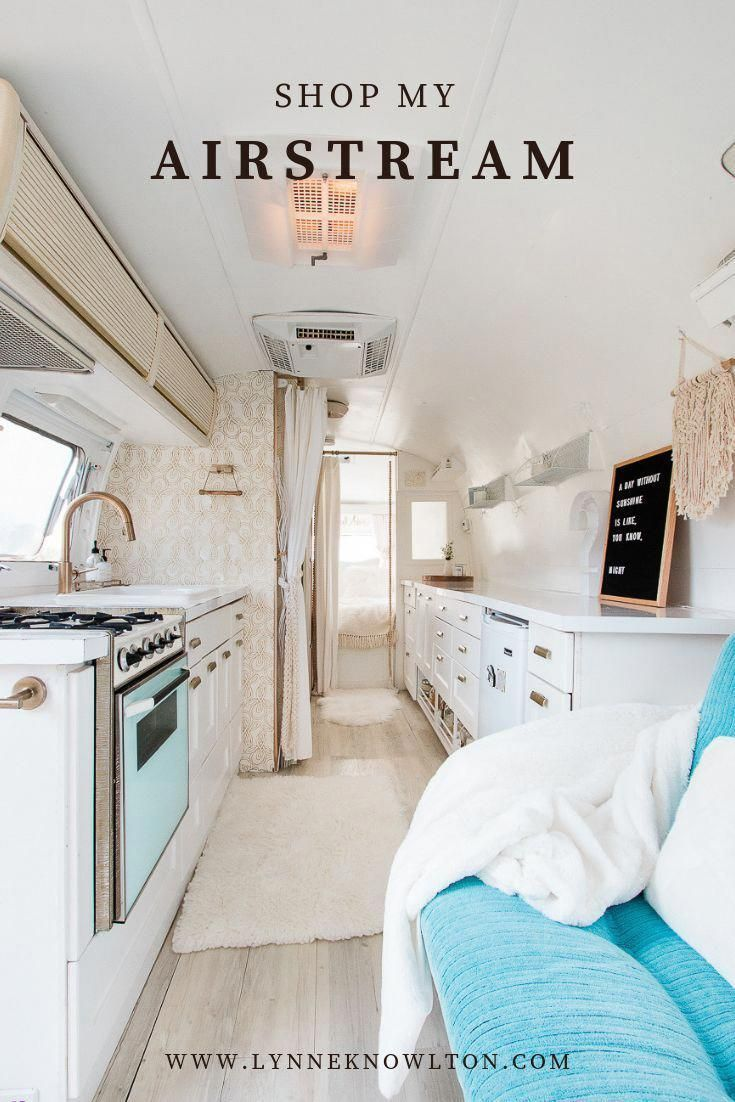 Shop The Best Airstream Finds For Decorating Renovating Your Rv Trailer In 2020 Airstream Restoration Airstream Airstream Remodel
