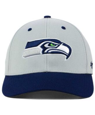 '47 Brand Seattle Seahawks Kickoff 2-Tone Contender Cap - Gray S/M