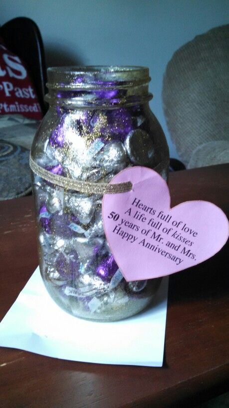 Best 25 50th anniversary gifts ideas on pinterest 40th for Anniversary craft ideas for parents