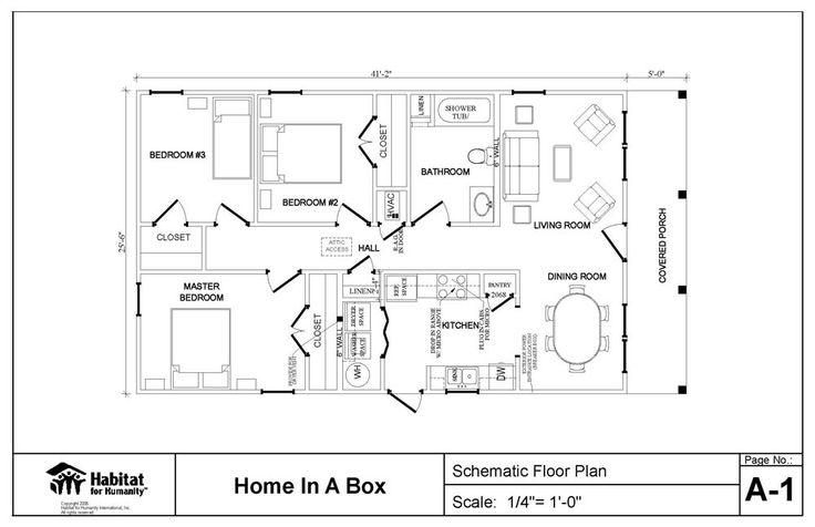 habitat for humanity home plans - Bing Images | Habitat | Pinterest ...