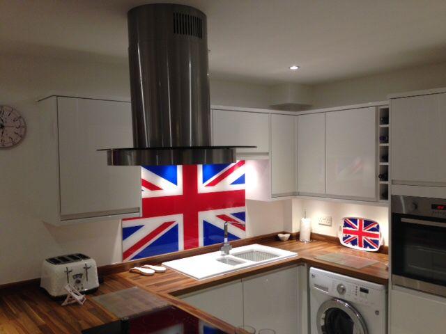 112 best images about patterned glass splashbacks on for Interior design kitchen splashbacks