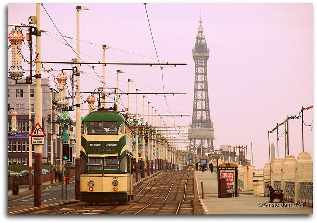 Blackpool attracts 10 million visitors a year to it's two beaches and wide variety of tourist attractions