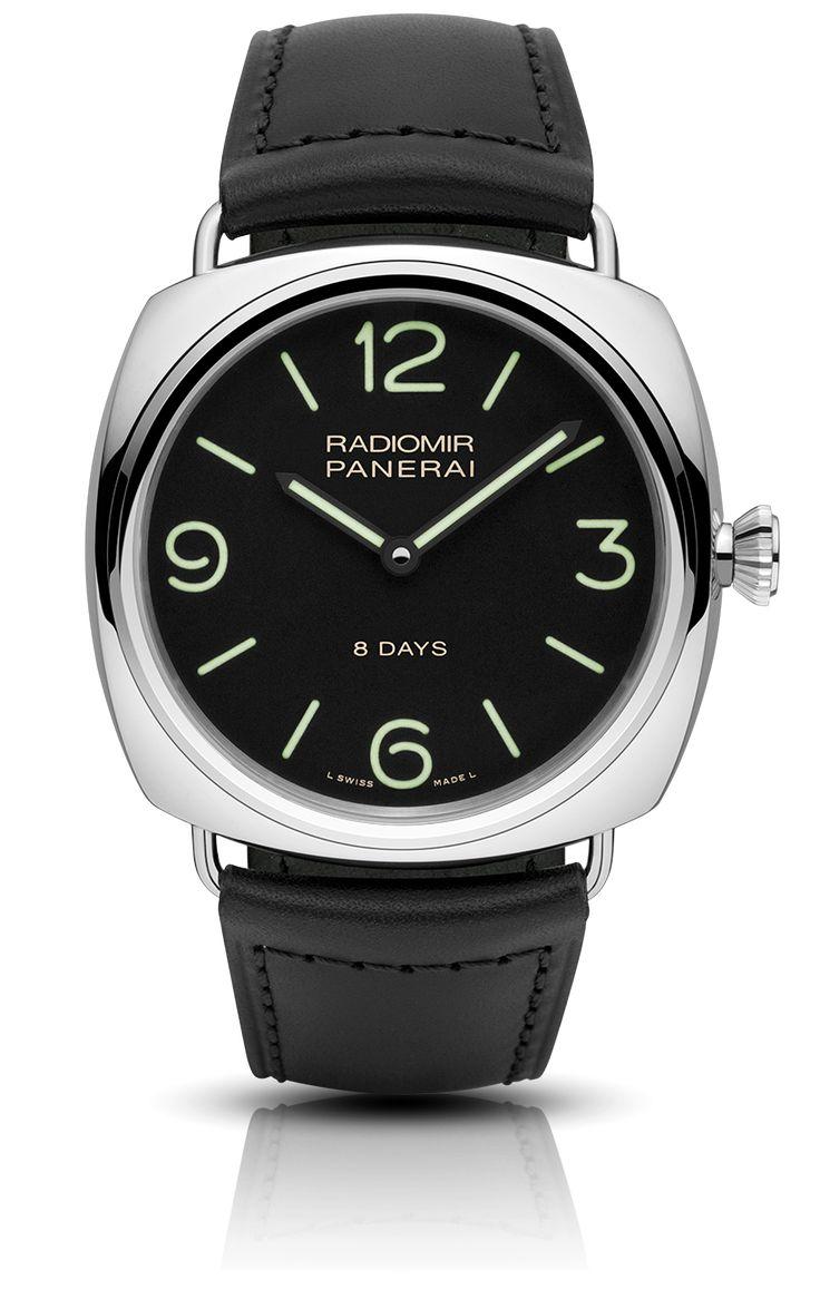 Radiomir Black Seal 8 Days Acciaio (PAM00610) | 45mm | See-thru back, $5700