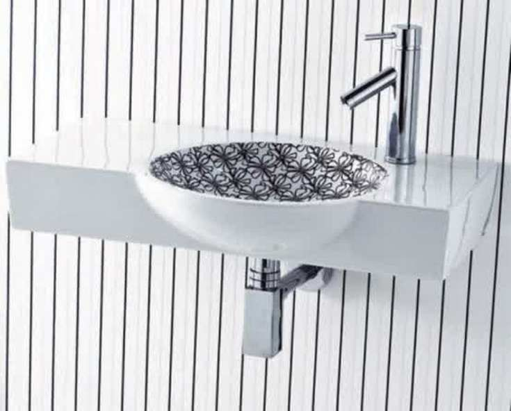 Black And White Washbasins - http://homeypic.com/black-and-white-washbasins-2/