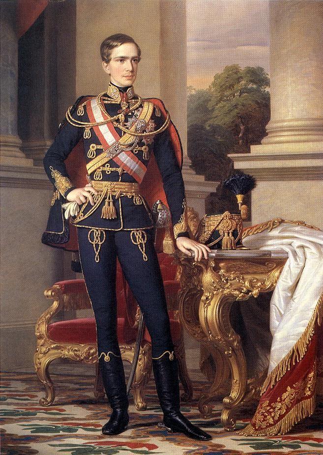 Portrait of Emperor Franz Joseph I  by Miklós Barabás