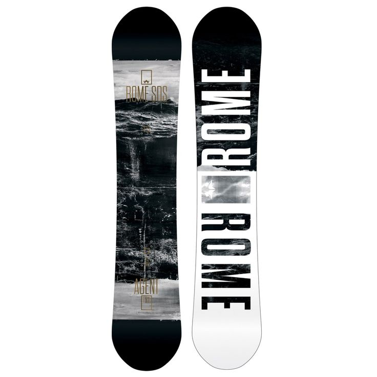 Men's Rome Snowboards - Rome Agent Snowboard - All Sizes