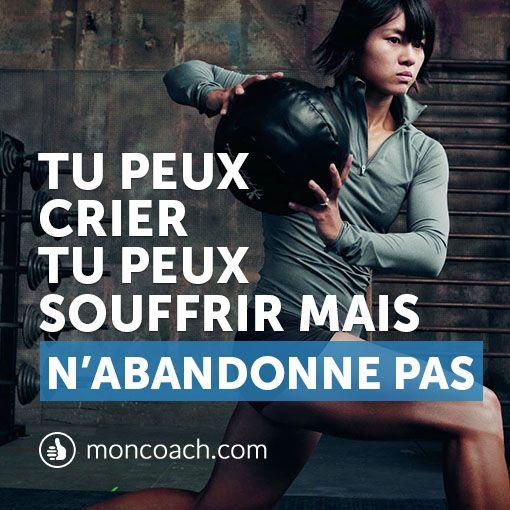 Motivation fitness - Pense à ce que tu pourrais avoir demain. #quote #exercice http://blog.moncoach.com/