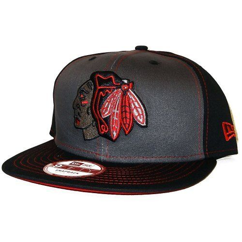 aa2fb84870a Mens Chicago Blackhawks Snapinpop 9Fifty Snapback by New Era.  26.95. New  Era