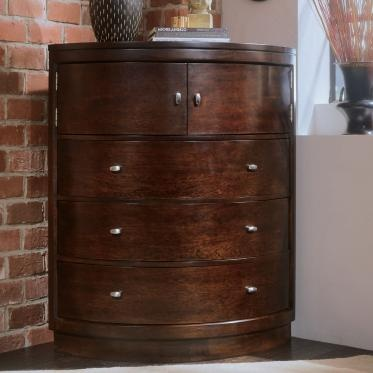 Tribecca Corner Chest   Contemporary   Dressers Chests And Bedroom Armoires    By Hayneedle