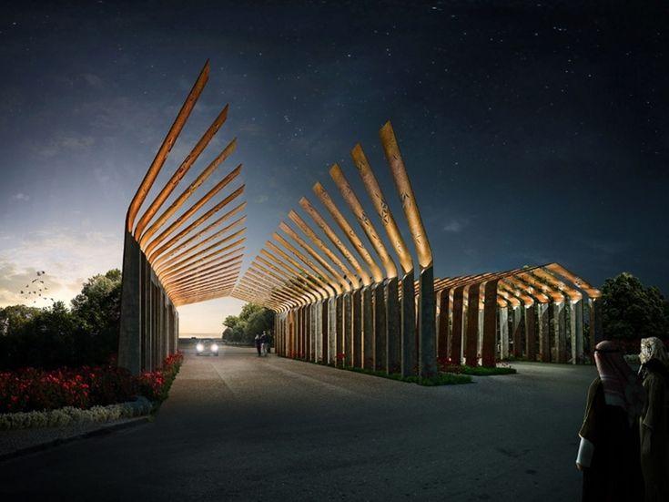 35 best entrance design images on pinterest landscape for International decor gates