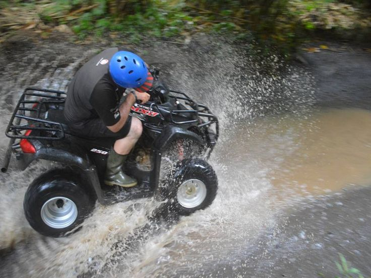 ATV RIDE: Now we are The best, the longest and the most spectacular ATV trek in Bali.ATV Ride provides you a great opportunity to explore and get closer to the beauty of Bali nature and its rural area - - YukmariGO.com