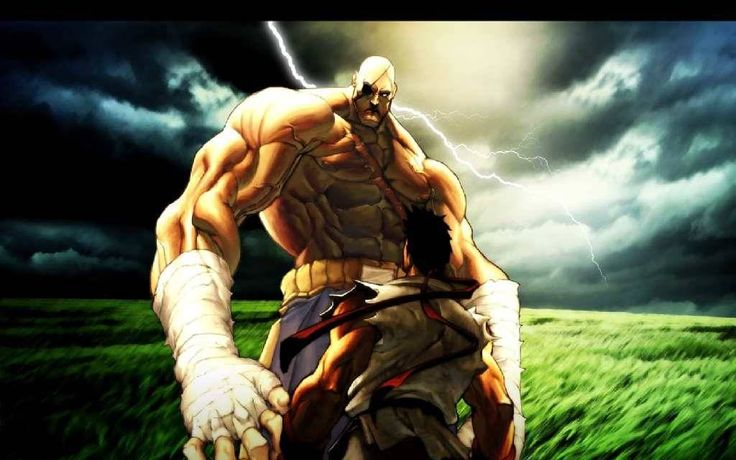 Sagat in Street Fighter [Muay Thai fighters in video games]