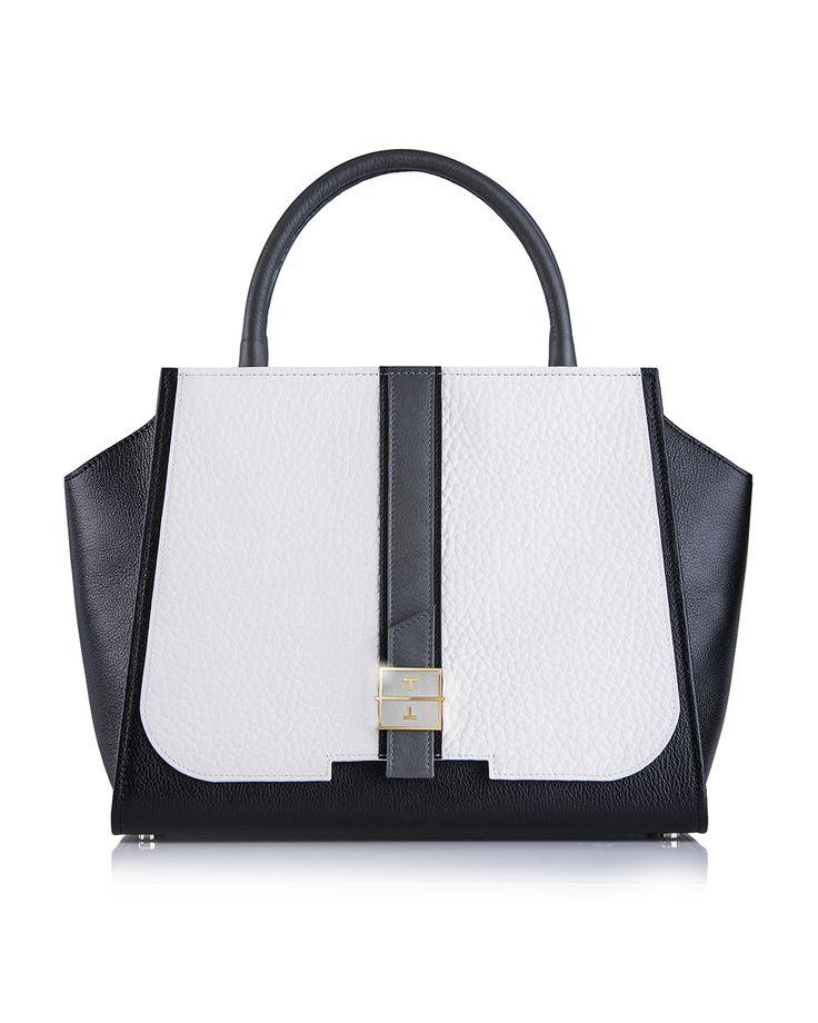 MELIA leather handbag in Multicolor by TANCHEL