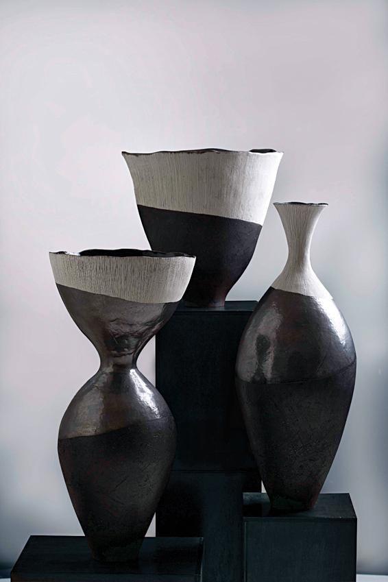 Helen Vaughan, a South African ceramicist and textile artist