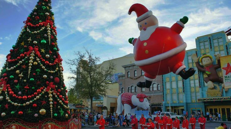 How to volunteer as a balloon handler in the Macy's Holiday Parade at Universal Studios Florida.