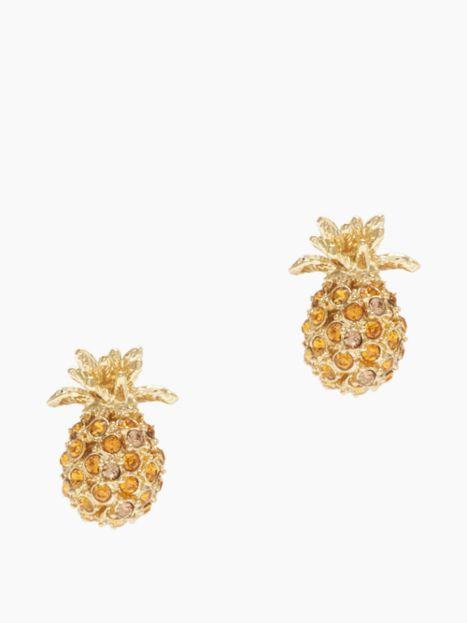 Kate Spade pineapple earrings $30