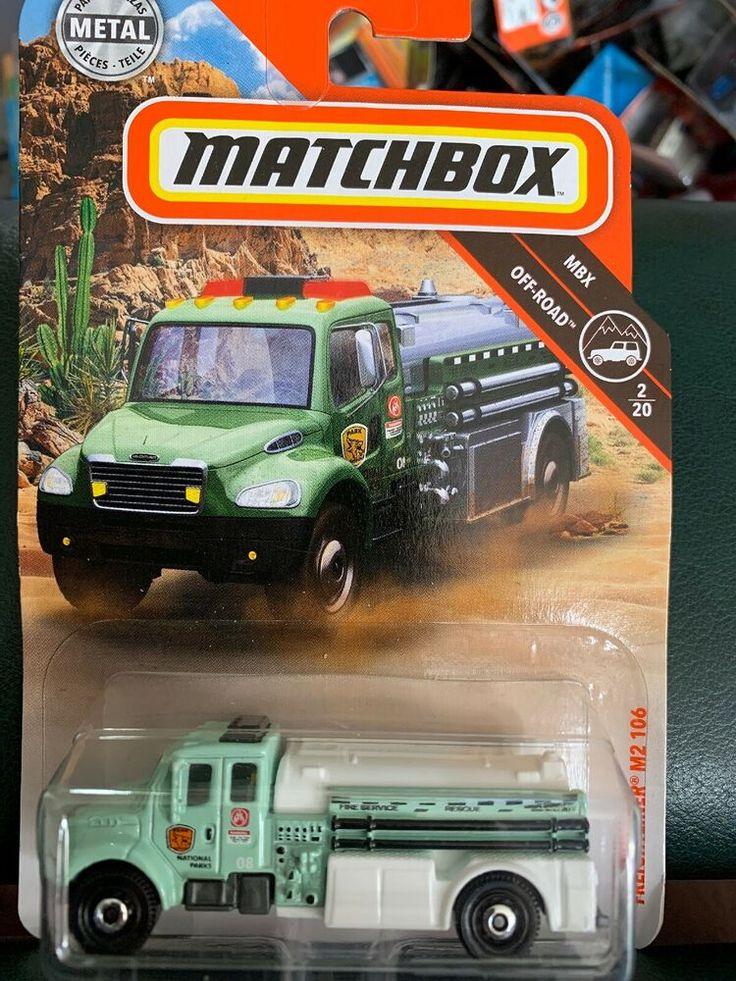 2019 Matchbox 2 Freightliner M2 106 Green Truck Service