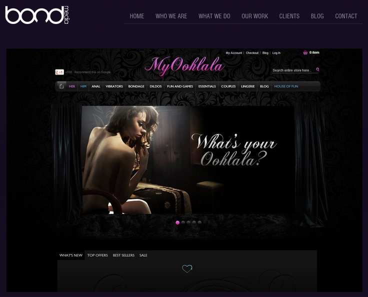 MYOOHLALA ~ The client was extremely happy with the end result and are fully capable of manage the site themselves.
