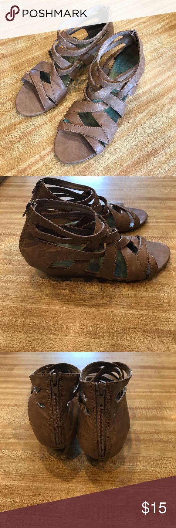 Blowfish Sandals Strappy sandals by Blowfish. Super cute detail. Blowfish  Shoes
