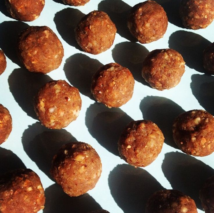 salty nut protein balls