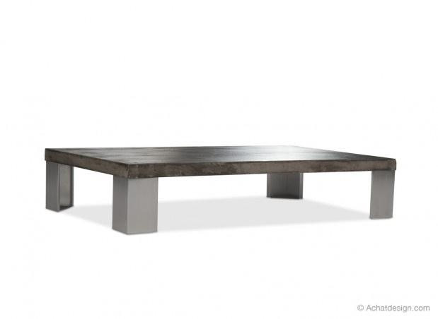 Les 25 meilleures id es de la cat gorie table basse b ton - Table basse imitation beton ...