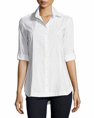 3b228259ba173 Finley Designer Joey Tailored Long-Sleeve Blouse