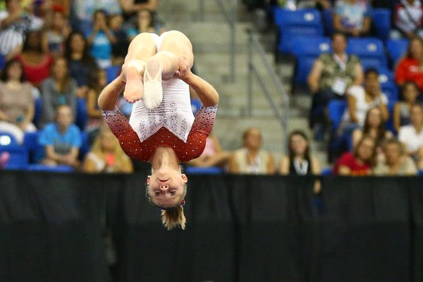 Ragan Smith Photos Photos - Ragan Smith competes in the floor exercise during day two of the 2016 P&G Gymnastics Championships at Chafitz Arena on June 26, 2016 in St. Louis, Missouri. - P&G Gymnastics Championships - Day 2