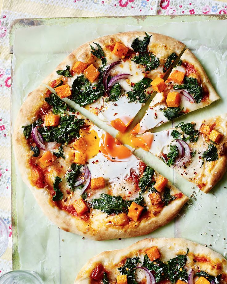 Asda Good Living | Eggs and spinach Florentine cheats pizza