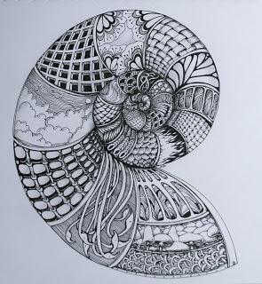 Mooie zentangle door Deborah.  Kijk ook eens op ons blog!