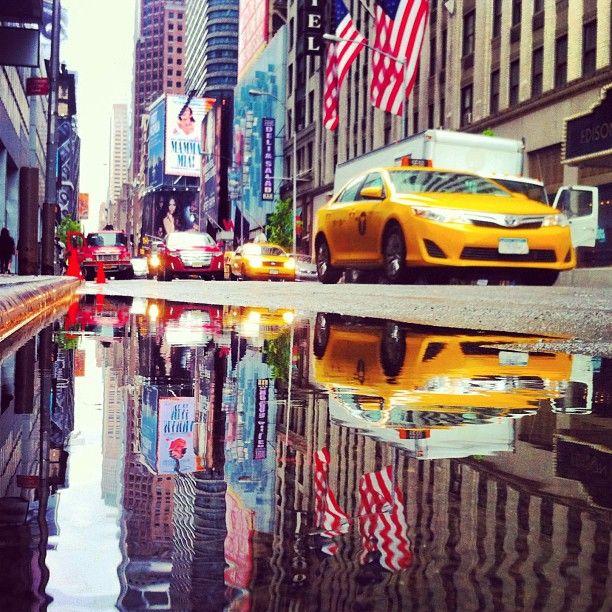 Beautiful reflection at Manhattan New York NYC .@marcel_tettero (Marcel Tettero) 's Instagram photos | Webstagram - the best Instagram viewer