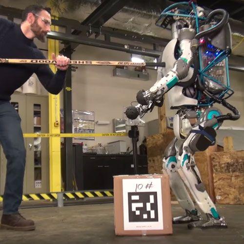Boston Dynamics Atlas Robot  #automation